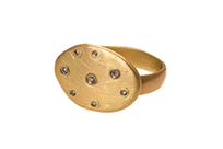 STERNENHIMMEL, Ring, 18 ct Gelbgold, Brillant