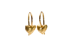 LITTLE HEART, Ohrhänger, 18 ct Gelbgold